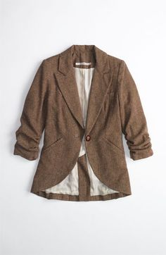 tweed riding jacket. cute for fall!