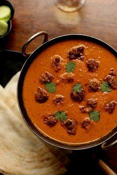 Kofta Curry - Meatballs in Tomato Gravy