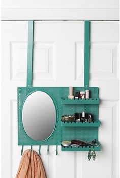 over the door vanity - easy diy