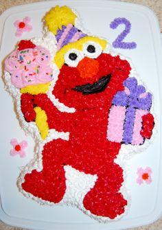 Elmo cake  :)