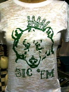 #Baylor Bears Royalty Tee - This is a FUN website! The Tiara Fits!