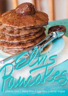 Elvis Pancakes   Gluten-Free & Egg-Free - Lexie's Kitchen   Gluten-Free Dairy-Free Egg-Free -
