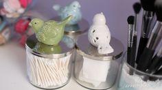 DIY: Repurposed Candle Jar Storage
