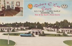 Robert E. Lee Court, Prints and Photographs, LVA.