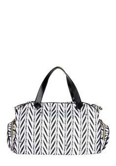 Betsey Johnson Round Zip Ticket Weekender Bag | Mod Retro Vintage Bags | ModCloth.com