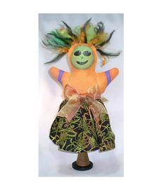Primitive Halloween Two Faced Jane Gothic by twistedpixelstudio, $100.00  #hab #Halloween #dolls #primitive