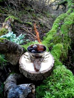 Beltane Stag Woodland Cone Fire Pit.