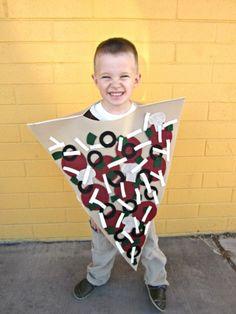 #Carnevale fai da te #pizza costume; slice pizza costume #diy