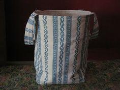 A GoodWife's Journal: Fabric bucket tutorial