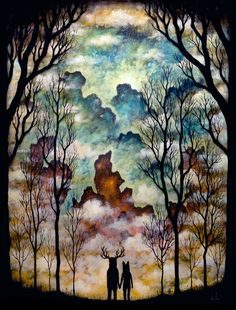 Together at the Threshold by Andy Kehoe, via Etsy.