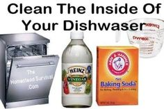 New Ideas | Do it Yourself Dishwasher Cleaner