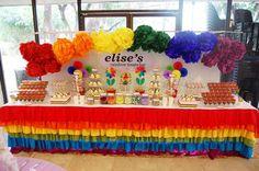 first birthday party rainbow, girl birthday, girls birthday parties, rainbow parti, rainbow birthday