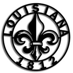 Louisiana and Fleur de Lis!