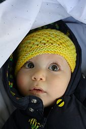 Free baby hat pattern worsted