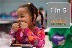 1 in 5 children face hunger. Repin to help us spread the word! http://feedingamerica.org/