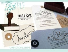 branded and stamped!