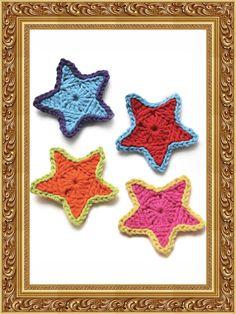 Según Matt ...: Tutorial Simple Star christmas wreaths, tutorials, simpl star, crochet craft, crochet pattern, matt, star tutori, crochet stars, crochet idea