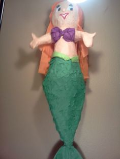 Large Mermaid Pinata ON SALE by UncleBucksPartyStuff on Etsy, $26.00