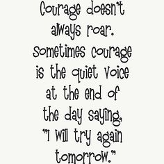 Good quote about courage