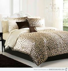 c3492  14 Bedroom Decor fifteen Pretty Bedrooms with Leopard Accents interior design ideas  photo