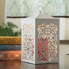 Candle Warmers Etc. Scroll Candle Warmer Lantern