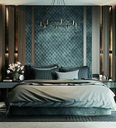 Working on a bedroom lighting project? Find out the best inspirations for your next interior design project at luxxu.net #interiordesignideas #luxury #interiordesign #lighting #bedroom #bedroomdecor