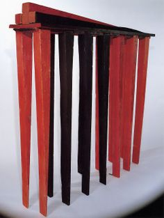 Louise Bourgeois says that The Blind Leading the Blind (1947–1949, wood and color)