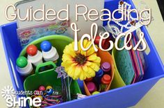 Guided Reading Tools - Ideas for your small reading groups