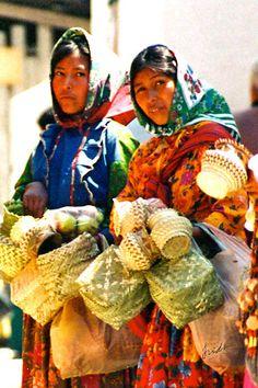 Women from Chihuahua, México.