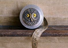 Vintage Owl Tape Measure
