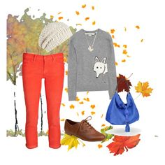 """Autumn in the air""  Fall and Orange cords (LOVE!)"