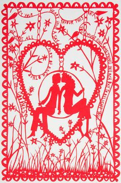 rob ryan believe in goodness screenprint