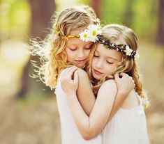 Flowers in Her Hair | Virginia Beach Children's Photographer