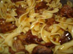 Beef with cognac recipe | Serbian CookBook