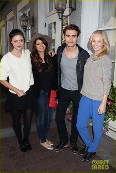 Paul Wesley & Phoebe Tonkin: Savannah Film Festival! | paul wesley phoebe tonkin savannah film festival 01 - Photo