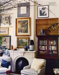 Michael Bastian's West Village apartment - love!