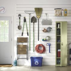 Is your garage in need of an overhaul? We've got the perfect solution: the exclusive Martha Stewart Living™ garage storage and organization system. Shop now: