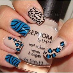 Animal Print- love the colors!