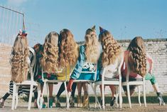 fashion, happy birthdays, girl parties, birthday parties, wavy hair, party hats, long hair dos, lock, friend