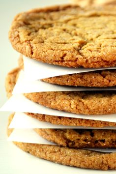 The best Chewy Spicy Ginger Cookies!