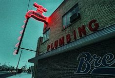 Another great neon sign. Saginaw...and still ON the building!!!!!