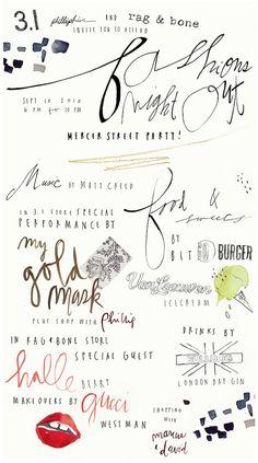 pretty fonts.