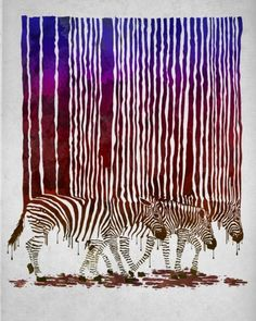 wall art, melted crayons, stripes, project ideas, painting projects