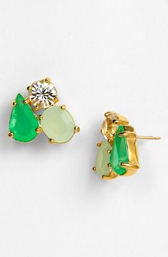 Multicolored Kate Spade earrings from @Nordstrom. I adore pretty much anything #KateSpade!