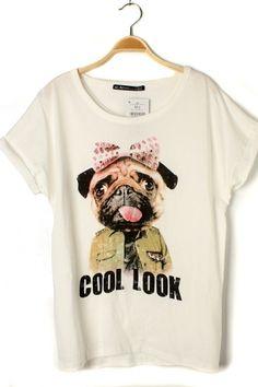 White Shar Pei T-shirt