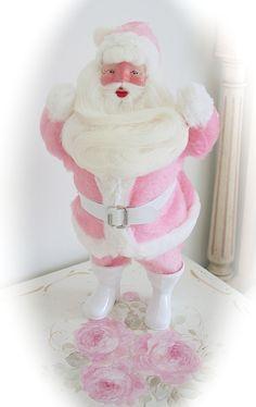 My Pink Vintage Harold Gale Santa Claus