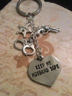 Love this! Great gift for any deputy's wife.