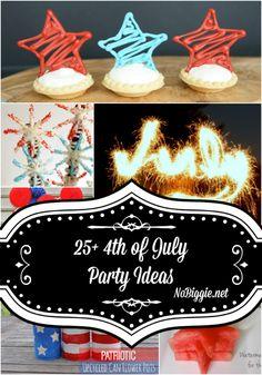craft, juli parti, chocol star, parti idea