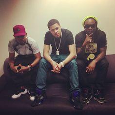 Kendrick Lamar, J.Cole, and Wale Folarin