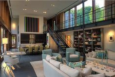 open plan with clerestory